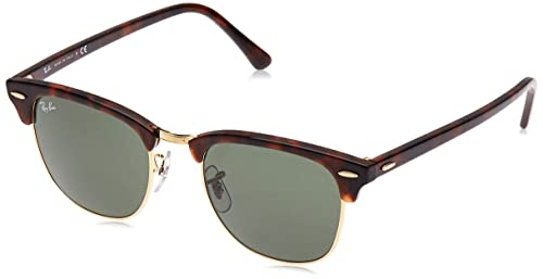 Amazon.com: Ray-Ban Clubmaster Classic - Gafas de sol, 51 mm ...