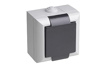 Meister 7417010 Caja de enchufe