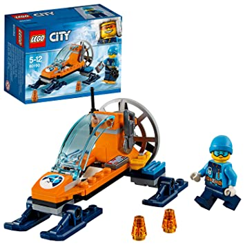LEGO City - Ártico Trineo Glacial, Juguete Creativo de ...