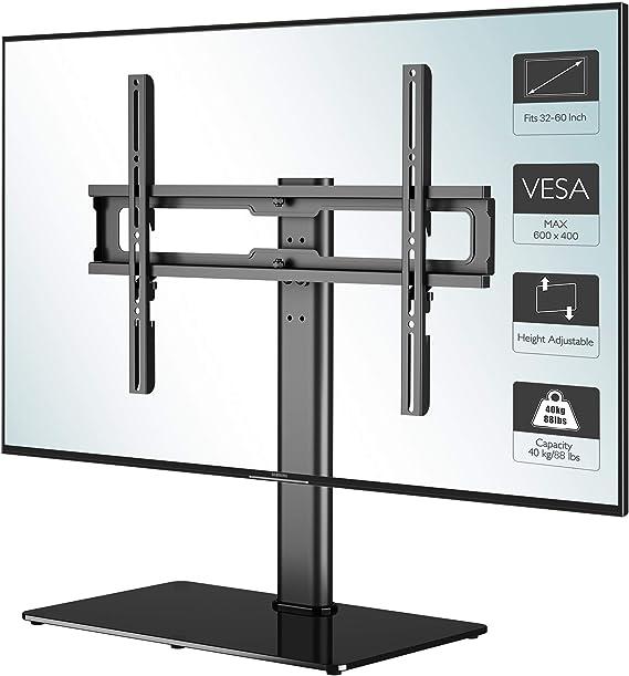 1home Soporte de TV de Pedestal para televisores LCD/LED/Plasma de ...