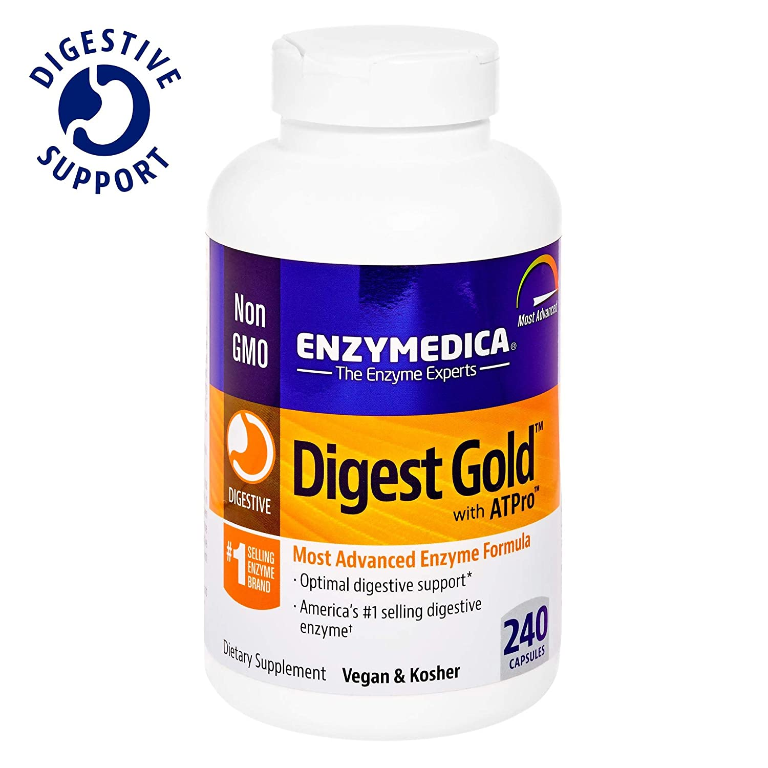 Enzymedica Digest Gold 240 caps
