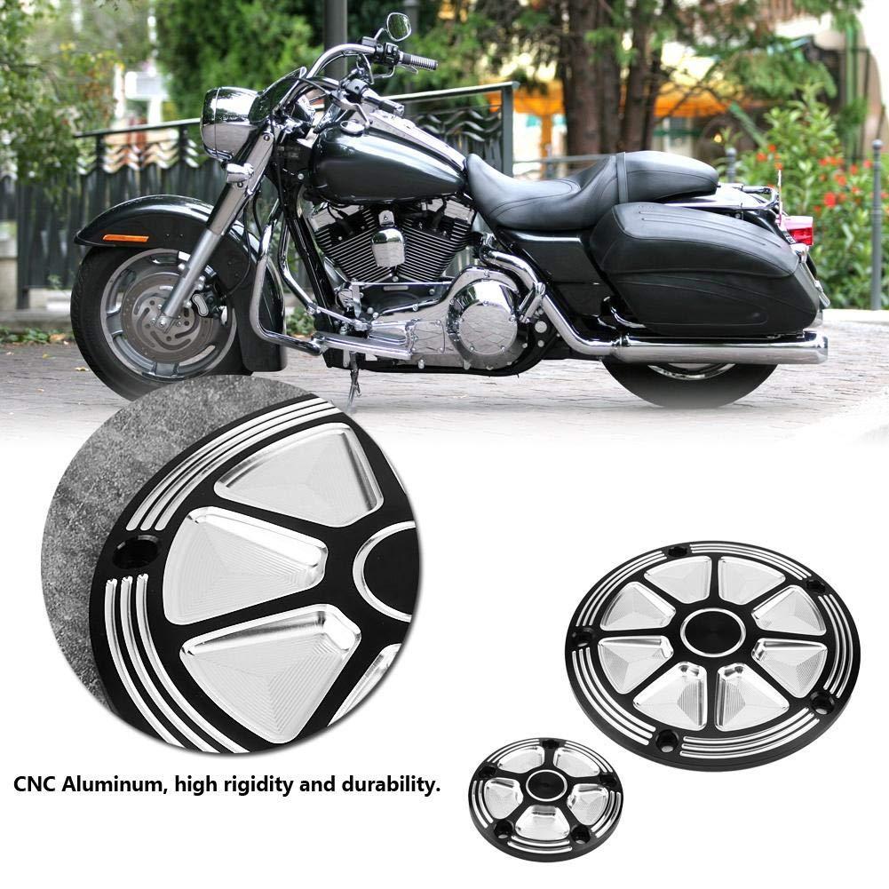 Keenso Derby timer cover punti coperture per moto Harley pezzi in alluminio CNC Derby di temporizzazione coperture per Harley Road King Softail Dyna 1999/ /2013