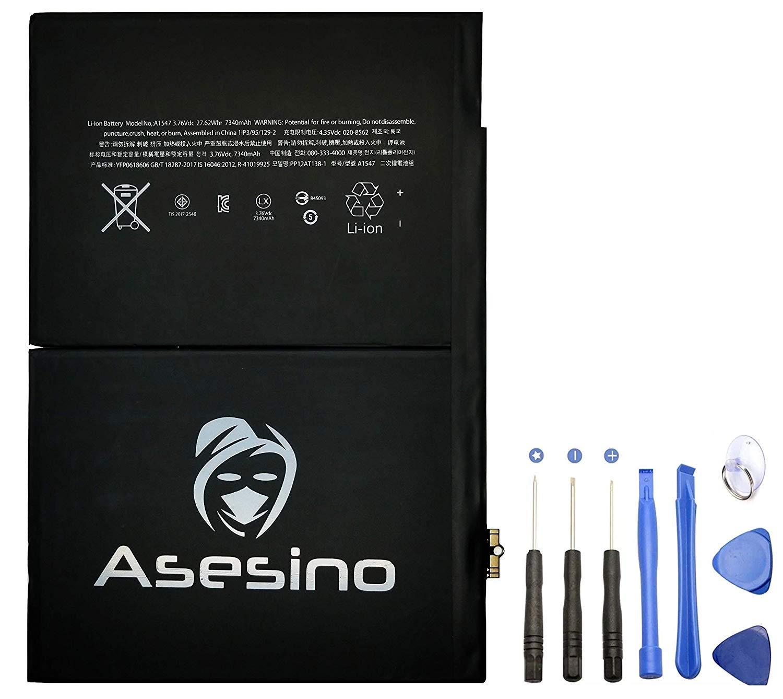Bateria para IPad Air 2 IPad 1 6th Gen 7340mAh A1547 A1566