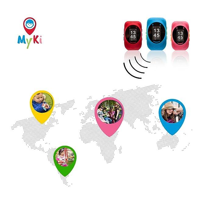 myki Smart Watch (Red) Children s GPS/gsm Tracker: Amazon.es ...