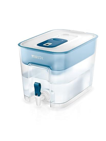 BRITA Flow - Dispensador de agua filtrada extra grande, incluye un cartucho MAXTRA+ que reduce