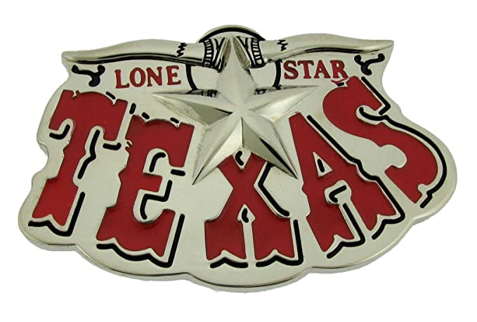Amazon Lone Star State Of Texas Us Belt Buckle Western Unisex