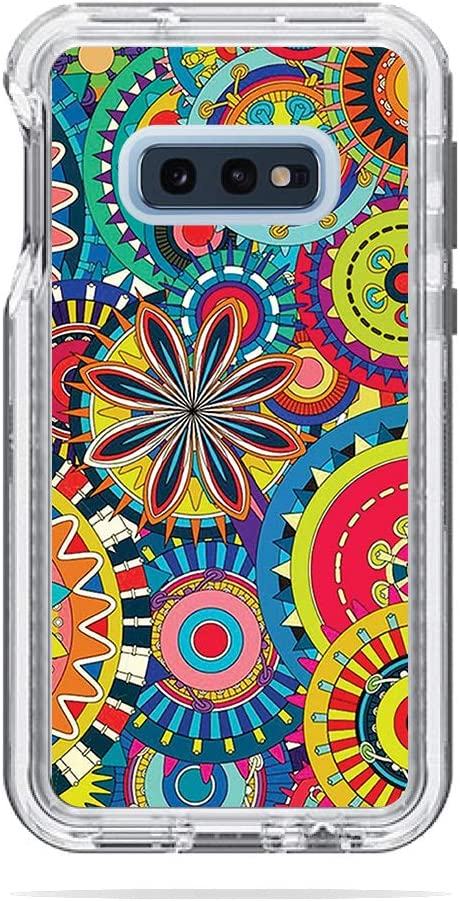 Durable Remove MightySkins Skin Compatible with Lifeproof Next Case Samsung Galaxy 10E Protective Easy to Apply and Unique Vinyl Decal wrap Cover Flower Wheels Made in The USA