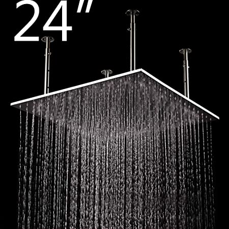 OVERSIZED RAINFALL SHOWER HEAD 8 inches Big Offer 40/% OFF Just Today