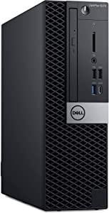 Dell OptiPlex 5070 SFF Business Desktop Computer_ Intel Octa-Core i7 9700 Up to 4.7GHz_ 32GB DDR4 RAM, 1TB PCIe SSD_ DVDRW_ USB WiFi Adapter_ Displayport_ Type-C_ Keyboard and Mouse_ Windows 10 Pro