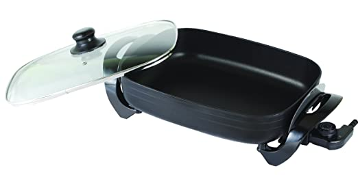 Mia MP 1060 XXL - Fuente de horno eléctrica con tapa transparente ...