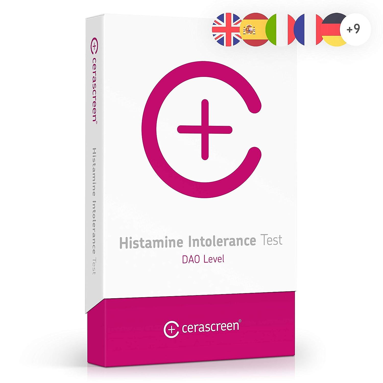 cerascreen® prueba de intolerancia a la histaminade - Determinar la intolerancia a la histamina fácilmente desde casa I Laboratorio certificado I ...