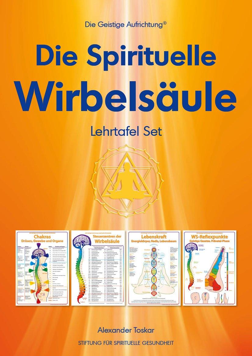 Spirituelle Wirbelsäule. Lehrtafel-Set
