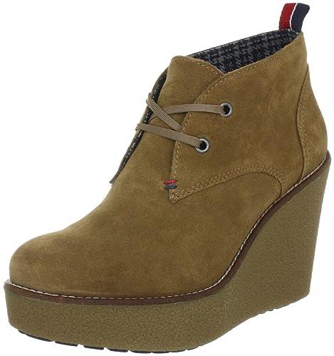 Tommy Hilfiger Winnie 1 - Botines de Cuero Mujer: Amazon.es: Zapatos y complementos