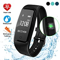 GULAKI Activity Tracker,Orologio Fitness Tracker Cardio Contapassi Cardiofrequenzimetro