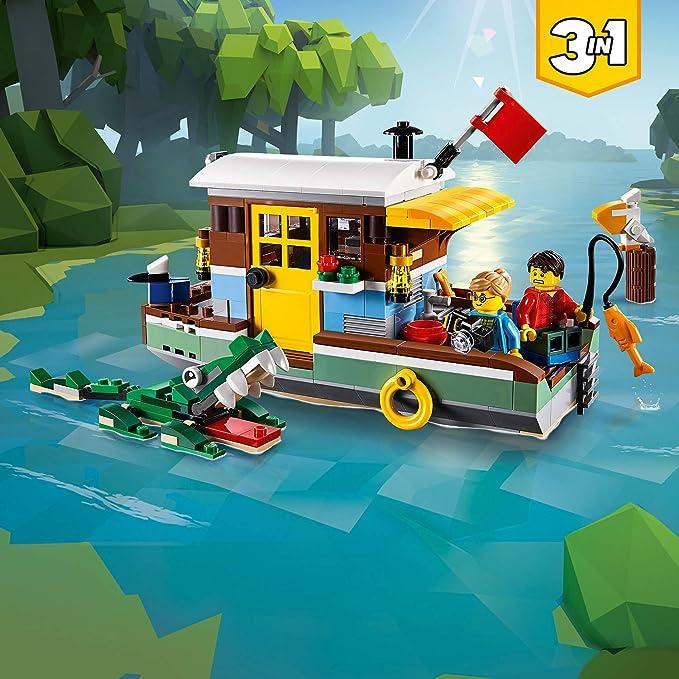 Lego Creator 31093 Hausboot Amazonde Spielzeug