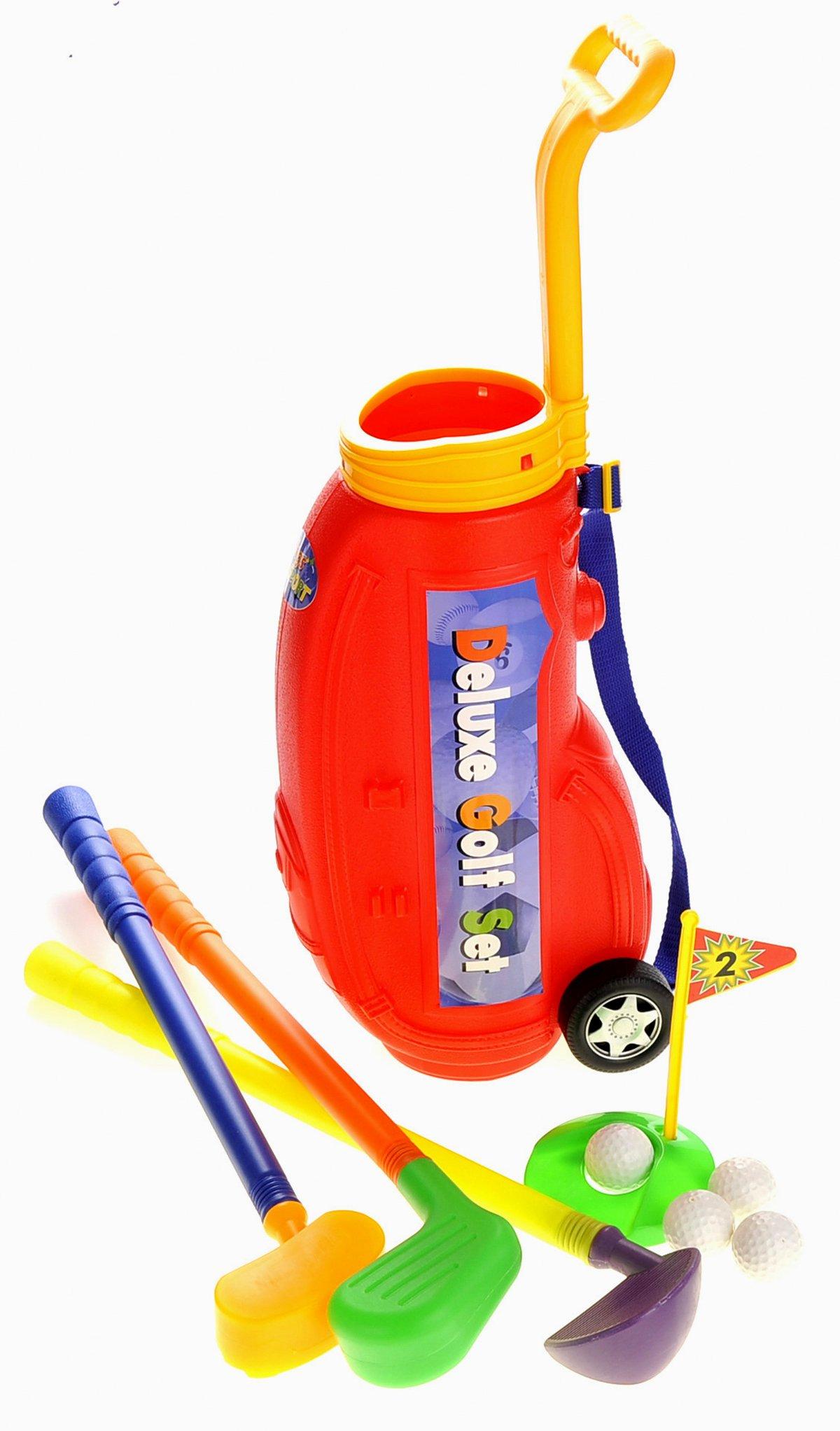 PowerTRC Deluxe Golf Play-Set for Kids w/ Easy Storage by PowerTRC