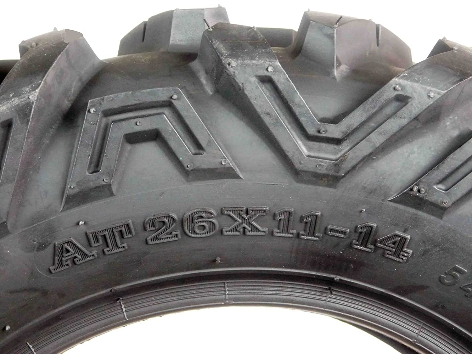 Full Set of 4 ATV UTV Tires Pair Front 26x9-14 /& Pair Rear 26x11-14 ATV UTV AT Tires 6 PR A033