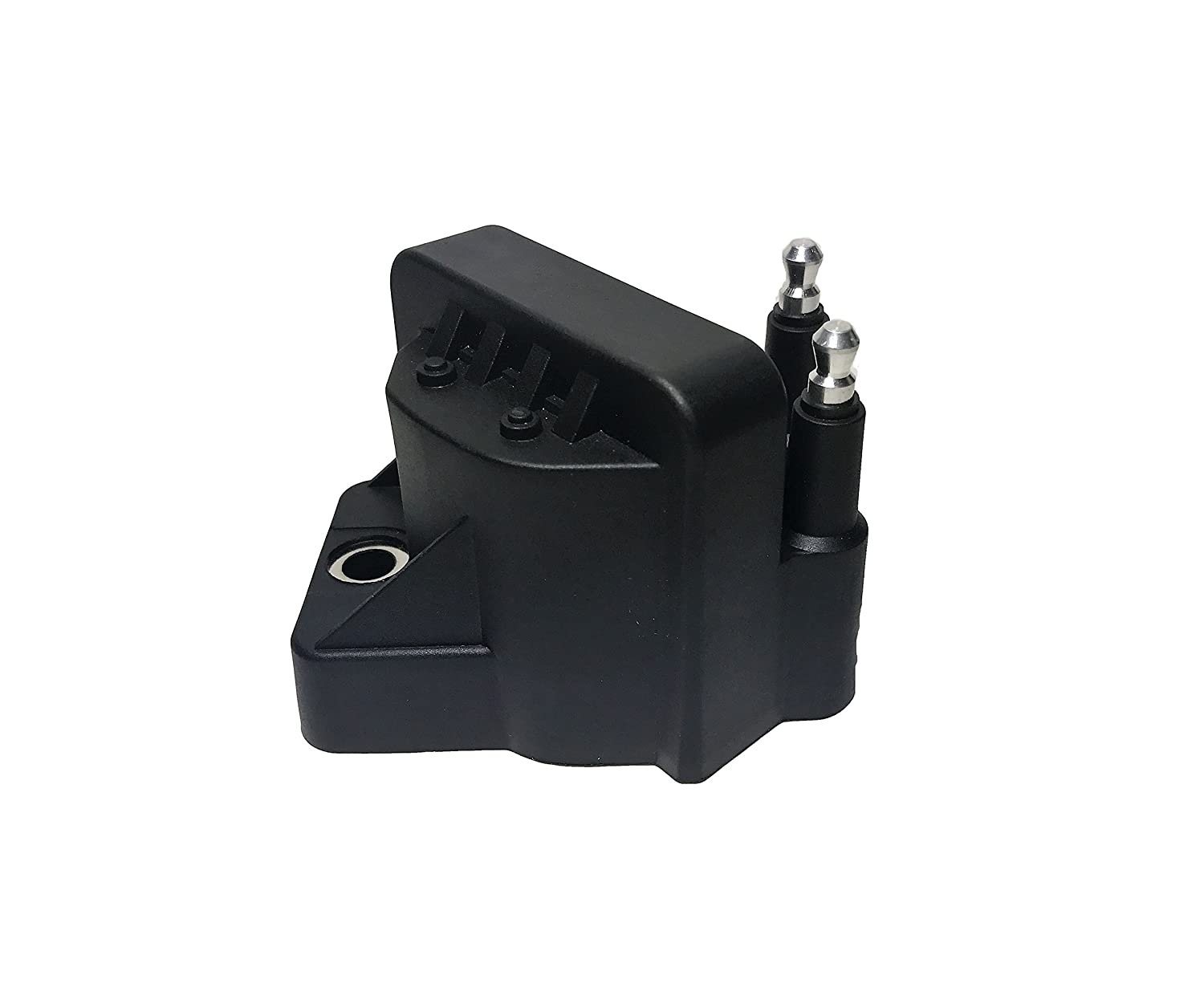 Ignition Coil Pack- Replaces GM# 10467067, 89056799 and ACDelco #E530C - 2000 Malibu Coil, 2002 Cadillac, 1998 Cadillac Deville, Buick, 99 Alero, 2003 Buick Lesabre and more Image