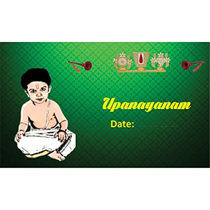 Poonal kalyanam upanayanam themed pack of 30 cards fill in style poonal kalyanam upanayanam themed pack of 30 cards fill in style m4hsunfo