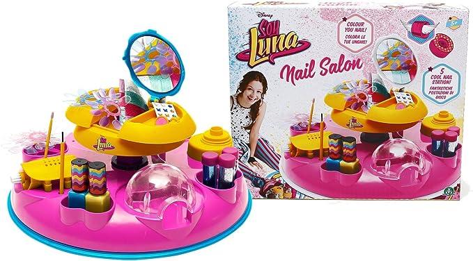 Soy Luna - Salón de uñas (Giochi Preziosi YLU18001): Amazon.es: Juguetes y juegos