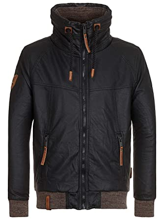 Naketano jacke leder optik