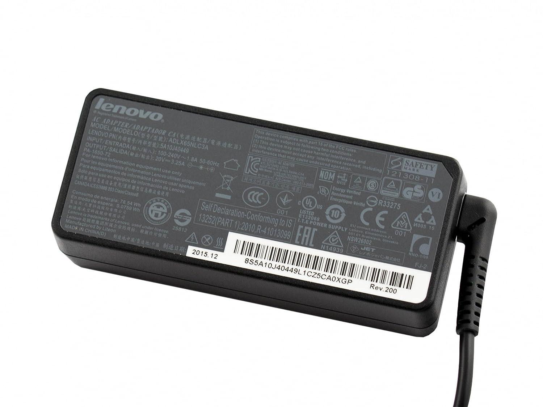 Lenovo Cargador 65 vatios Original para la série IdeaPad 320 ...
