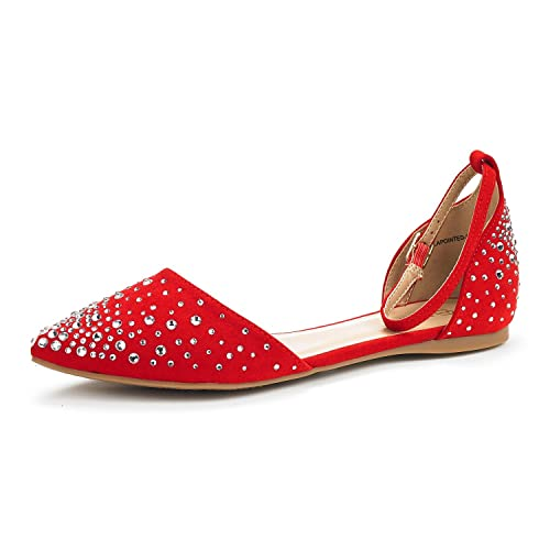 0c137c6ac DREAM PAIRS Women's Flapointed-New D'Orsay Ballet Flats Shoes: Amazon.ca:  Shoes & Handbags