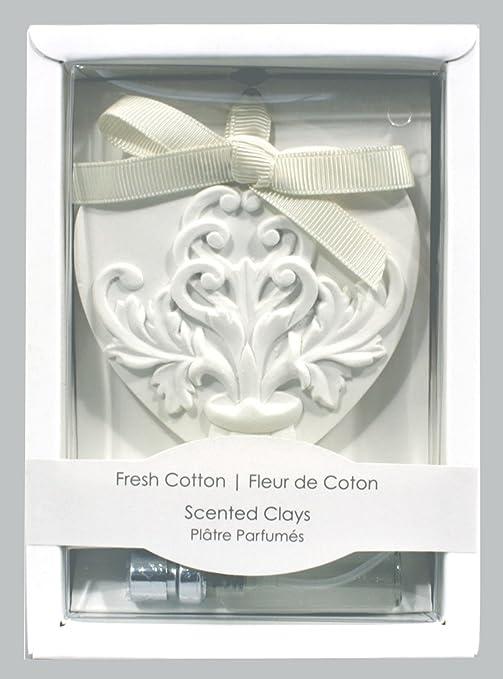 Arcilla de aroma, diseño de corazón, aroma de algodón: Amazon.es ...