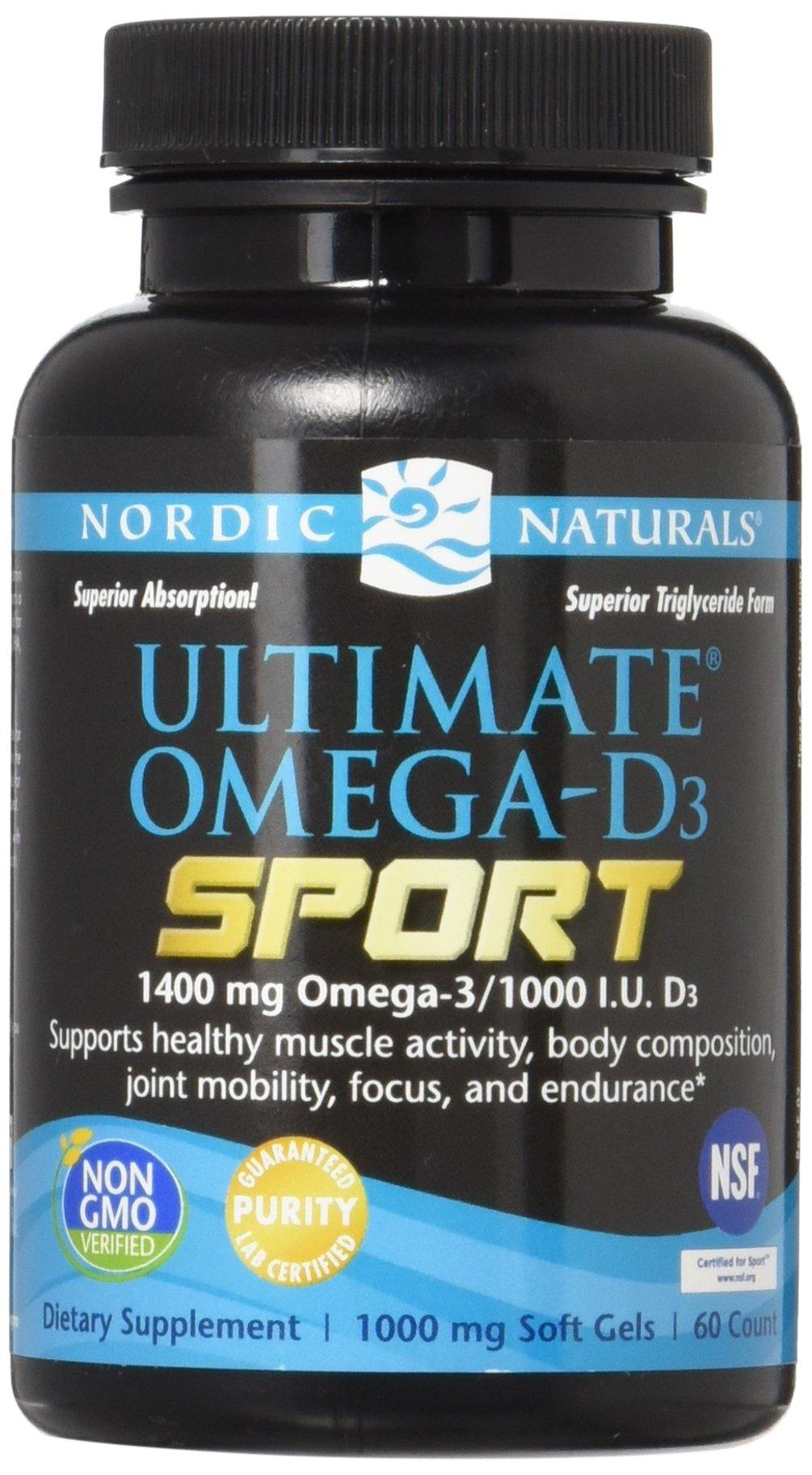 Nordic Naturals Utimate Omega-D3 Sport