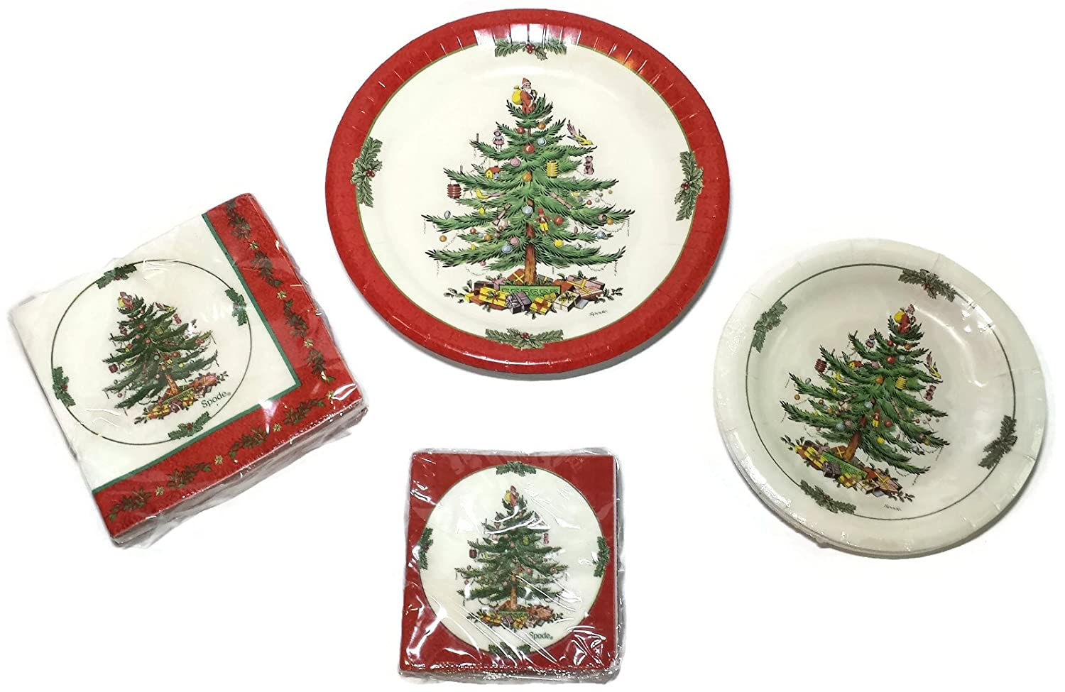 Christmas Tree Paper Plates And Napkin Sets  sc 1 st  Castrophotos & Christmas Paper Plates Napkins - Castrophotos