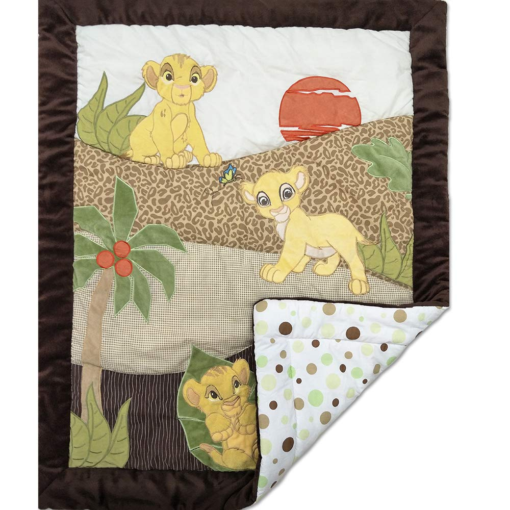 ba2382e29dfd3 Jungle Theme 100% Cotton All Weather Super Soft Baby Quilt Baby Wrapper for  Unisex Babies by Quilting Tree