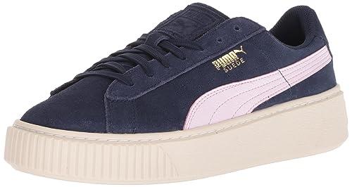Puma Unisex  Suede Platform SNK Kids Sneaker  Amazon.co.uk  Shoes   Bags e0e4d3f12
