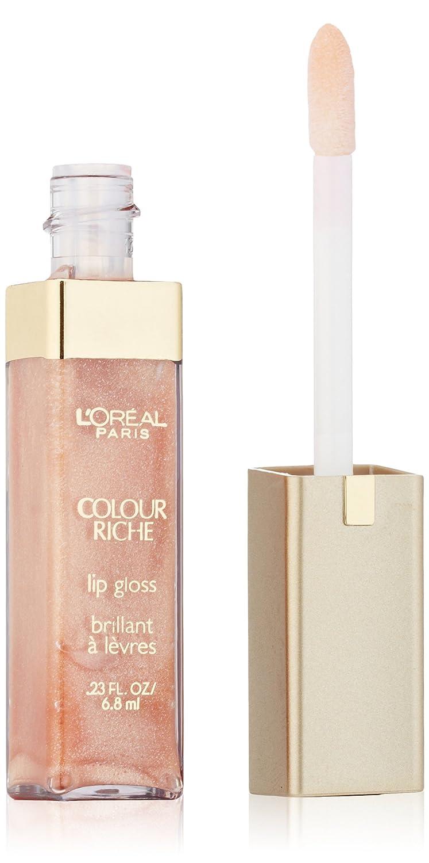 L'Oréal Paris Colour Riche Lip Gloss, Soft Brown, 0.23 fl. oz.