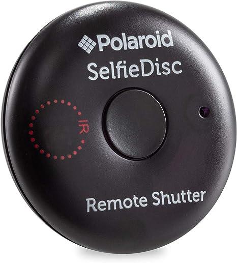 Polaroid SelfieDisc Disparador remoto con IR mejorados para ...
