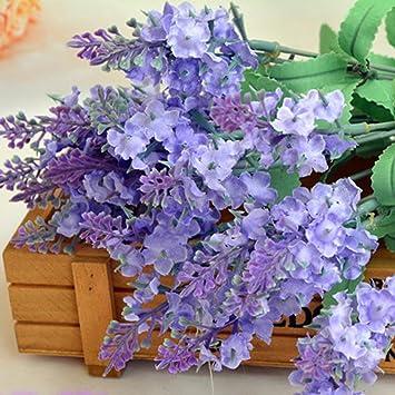 Moonuy Provence Kunstlichen Blumen Franzosisch Lavendel Falsch