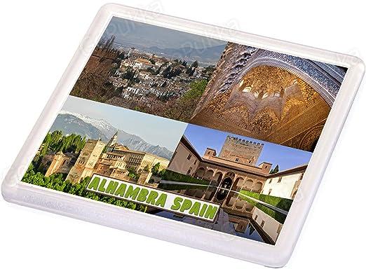 Posavasos de recuerdo de Alhambra España: Amazon.es: Hogar