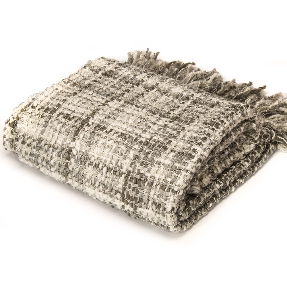 "Rustic Style Acrylic Throw Blanket Measuring 60""x 50"" by Battilo Inc"