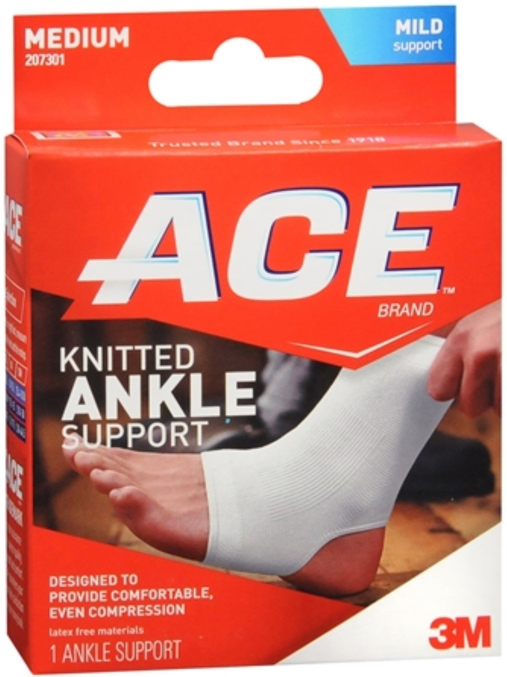 ACE Ankle Brace Medium 1 Each (Pack of 12)