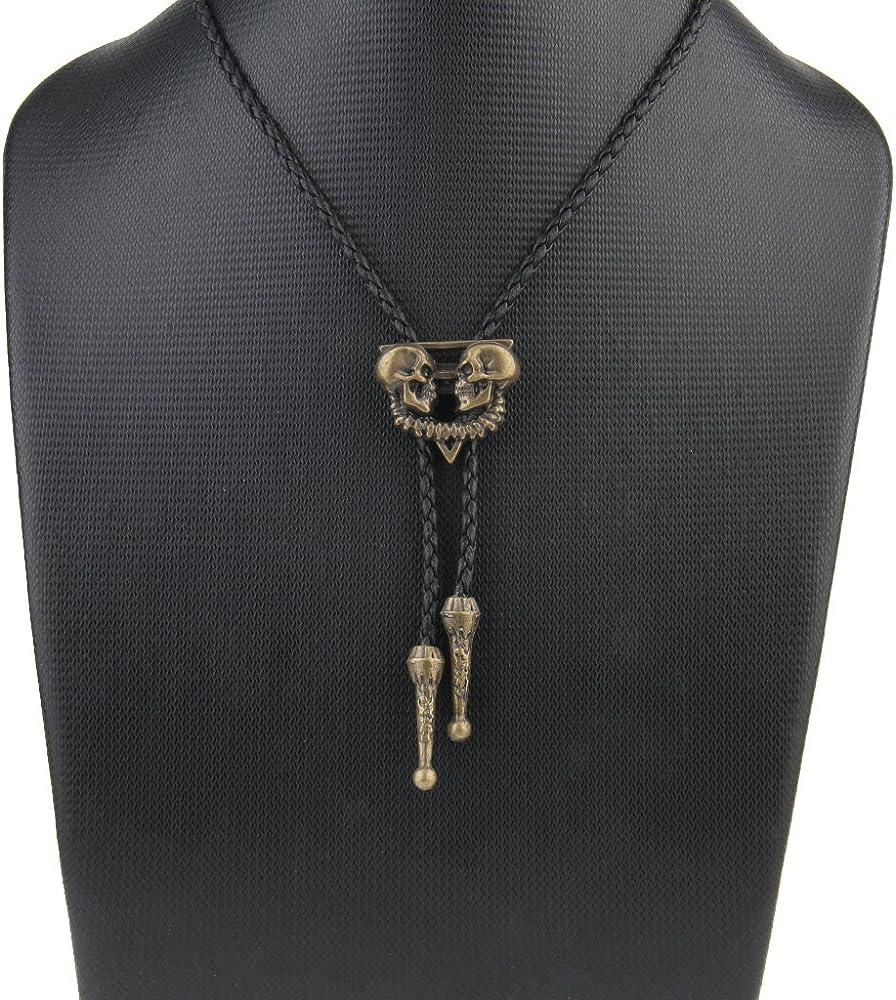 Sharplace Corbata Cuero Corbata Occidental Collar Accesorio de ...