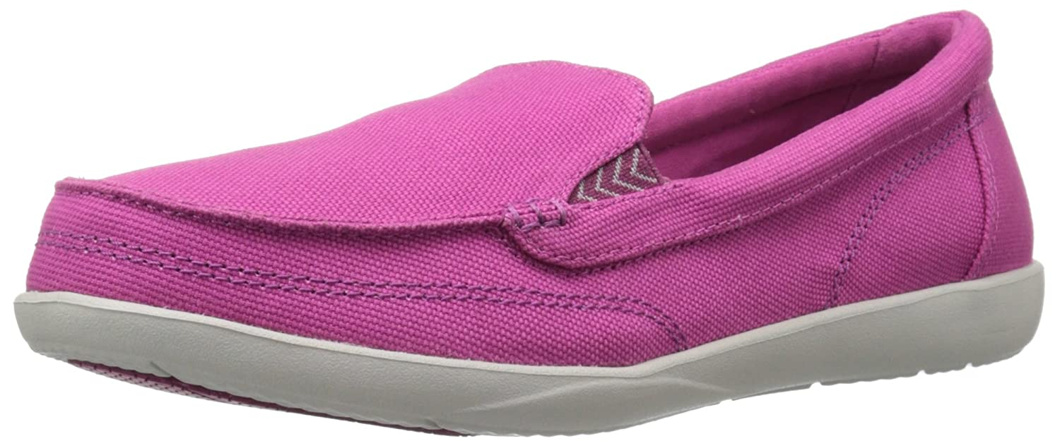 fcb1bca865d crocs Women s Walu II Canvas Loafer  Buy Online at Low Prices in India -  Amazon.in