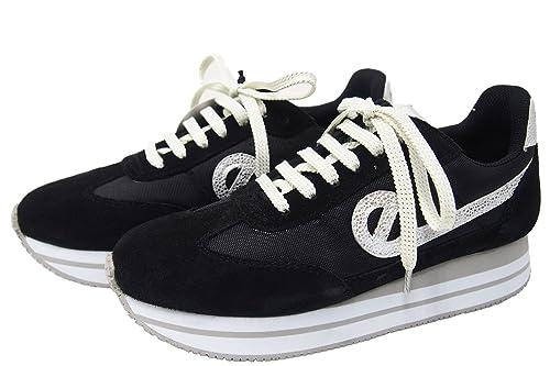 No Name - Zapatillas Bombes no Name Eden Jogger, Negro (Negro), 41: Amazon.es: Zapatos y complementos