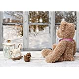 AiEllen DIY Diamond Painting by Numbered kit Full-drilled Toy Bear Cross-Stitch Art Craft Wall Decoration,12X16 inches