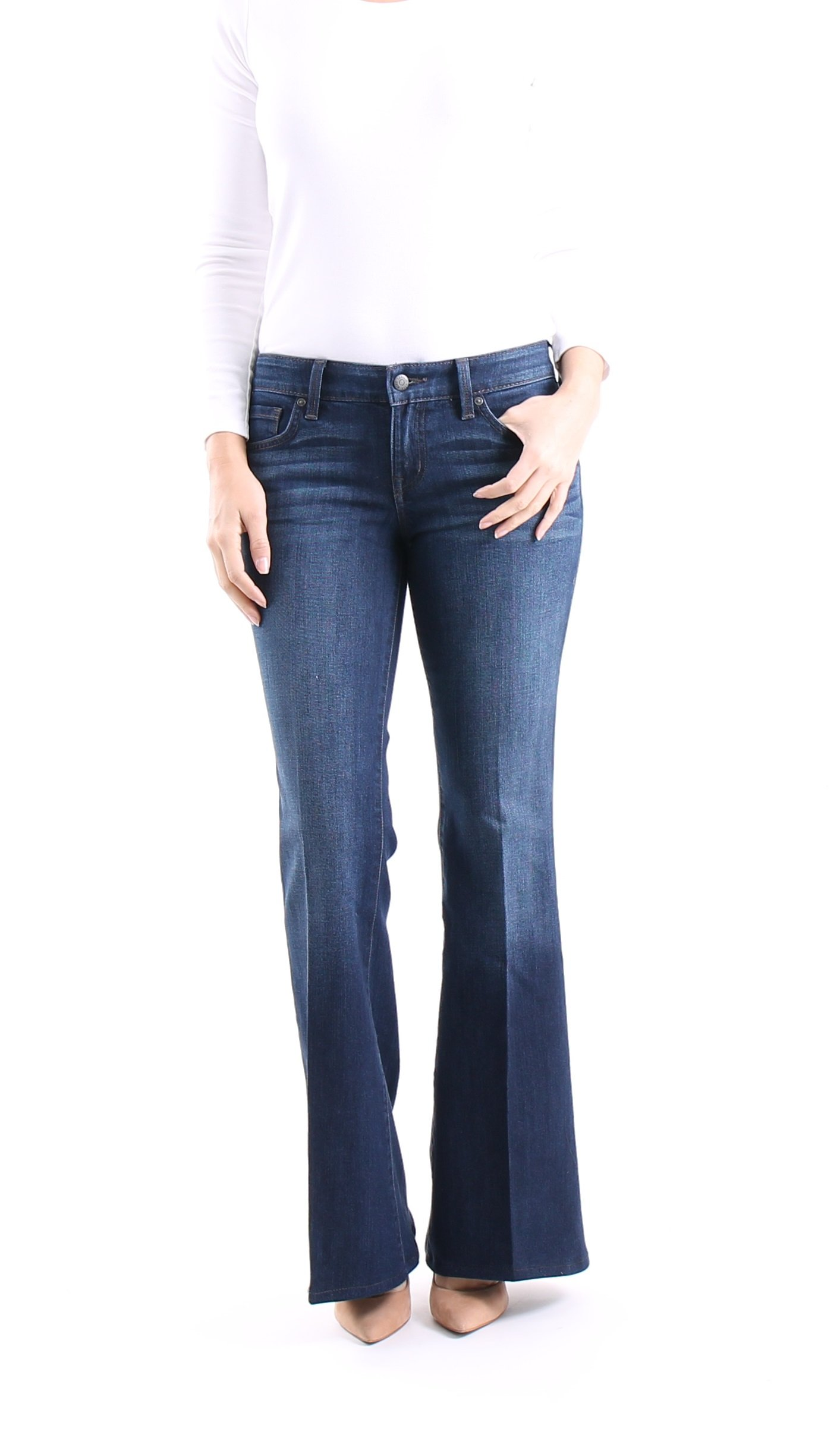 Level 99 Jeans Vintage Flare Denim Lets You Look Slimmer, Feels Amazing Just Like a Custom Fitted Women's Jean