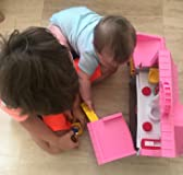 Brother and sister playhouse
