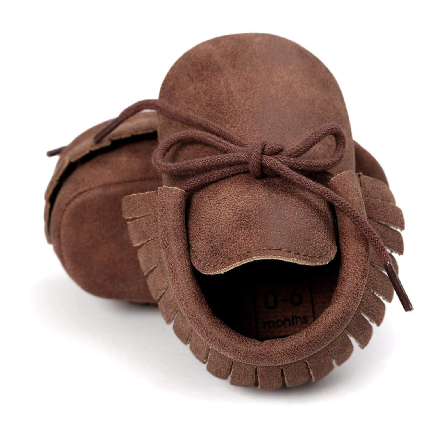 Spring Baby Shoes PU Leather Girls Shoes for Girls Baby Booties Fringe First Walks