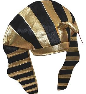 Amakando Pharao Hut Agyptische Kopfbedeckung Agypter Kopfschmuck