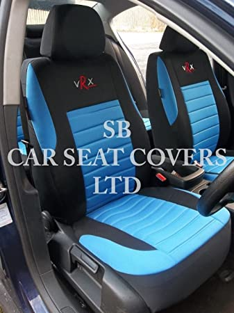 r - SUITABLE FOR PEUGEOT 107 CAR, SEAT COVERS, ROSSINI BLUE VRX ...