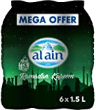 Al Ain Bottled Water Mega Offer - Pack of 6 Pcs (6 x 1.5L)
