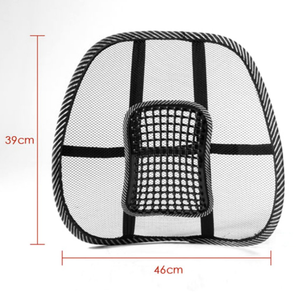 Zehui mesh back lumbar support massage beads for car seat chair massage cushion amazon co uk car motorbike