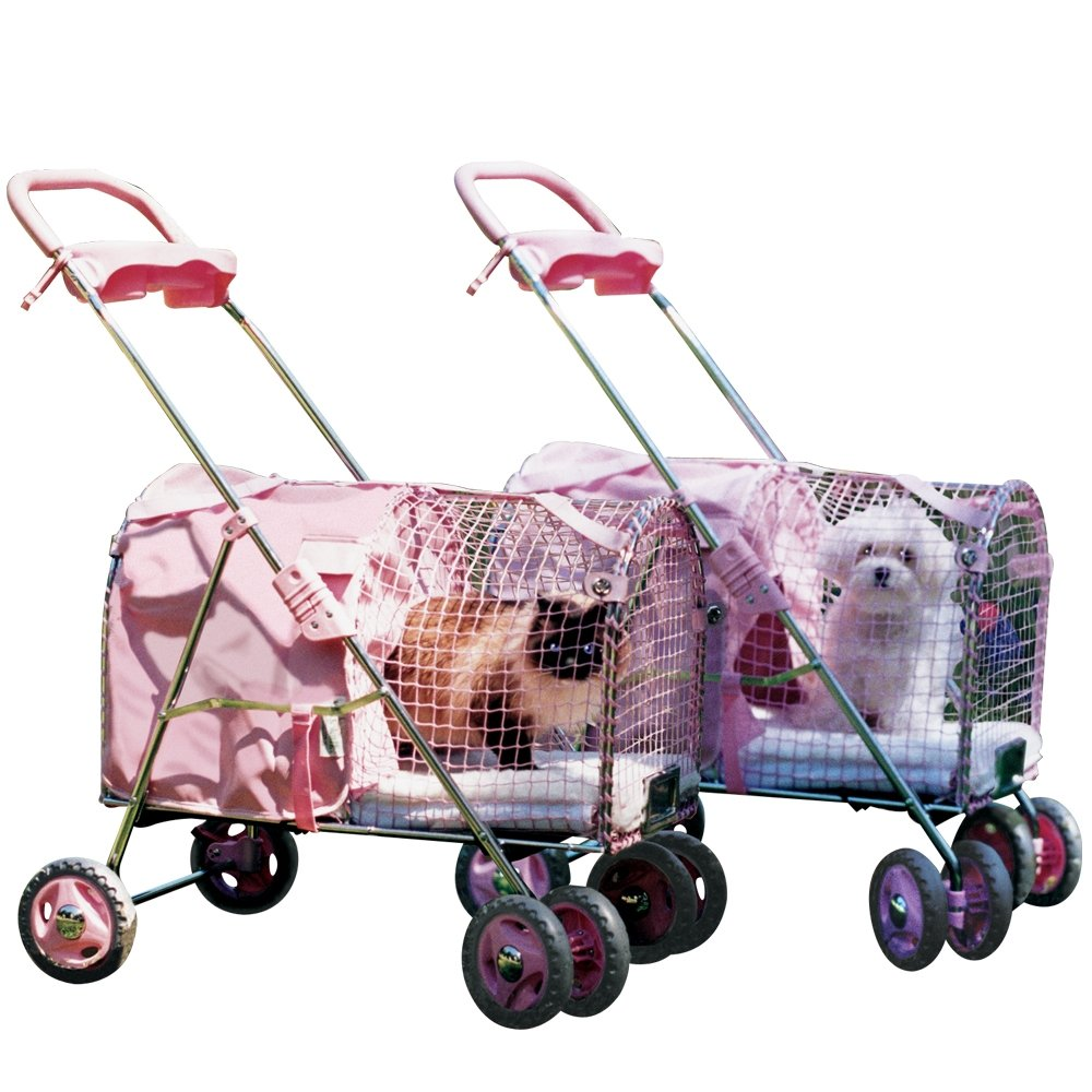 Fifth Avenue Pet Stroller, Pink